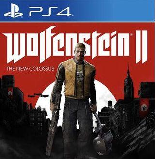 WTT/WTS: Wolfenstein 2 The New Colossus PS4 Game