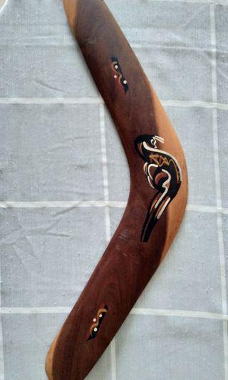 Wooden boomerang