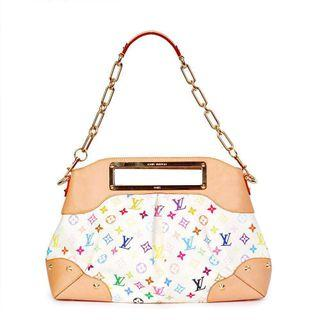 Louis Vuitton Multicolored Judy GM White