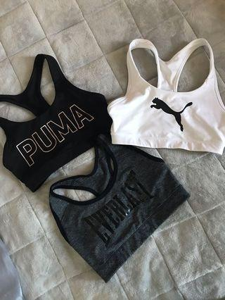 Sports bras all size small
