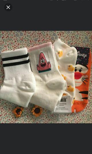 Cute assorted sock