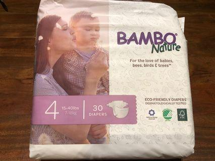 🚚 Bambo Nature Eco Friendly Diapers Size 4