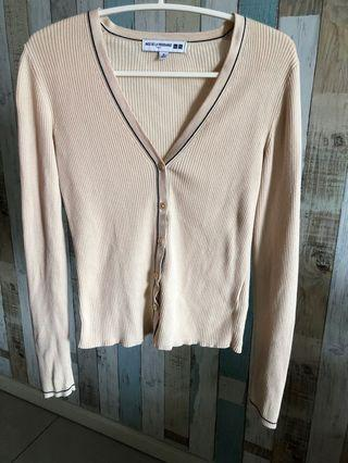 Uniqlo Beige Cardigan