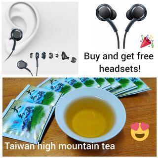 High mountain tea( buy and get free headset!!)