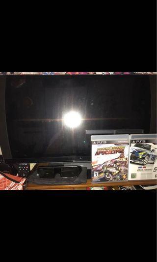 PS3 +3D Monitor + 3D Glasses + Games + 拳霸大制