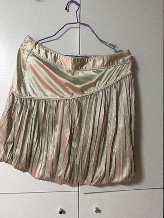半截裙褲(米白色)M碼