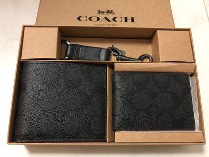 Coach wallet set (other design on page)