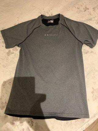 Under Armor run tee shirt