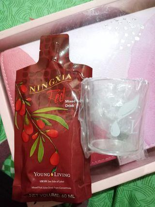 Ningxia Red with original YL plastic cup