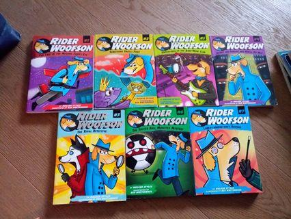 Rider Woofson the real detective children's story books