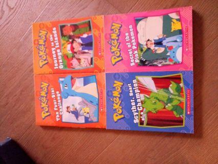 Pokemon books by Scholastic