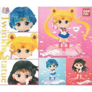 全新 一套三款 美少女戰士 扭蛋 2019 Sailor moon bandai