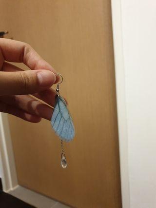 BN butterfly angel earrings