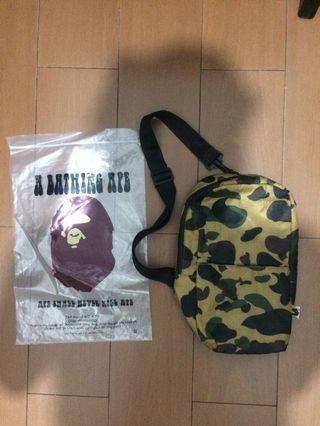 BAPE appendix sling bag