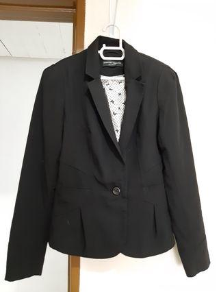 Woman Black Blazer #suriaklcc