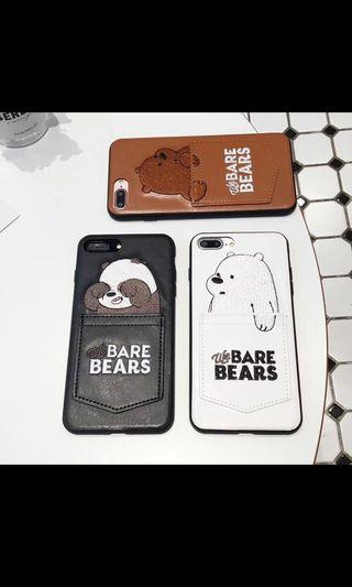 🚚 We Bare Bears iPhone Casing
