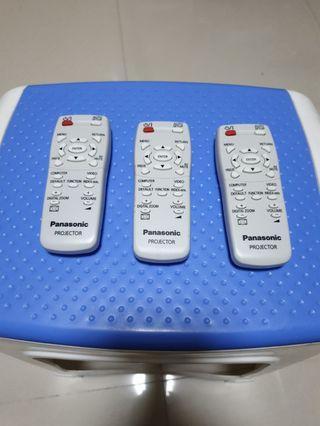 Panasonic projector remote control unit