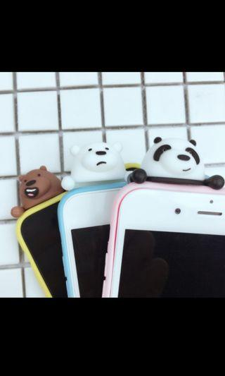 🚚 We Bare Bears 3d Iphone Casing