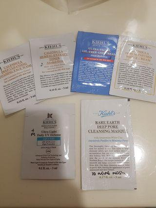 6 x Kiehls Sample Sachets