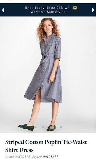 Brooks brother Shirt dress