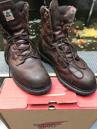 Redwing steel toe 3528_10E2 Made in USA