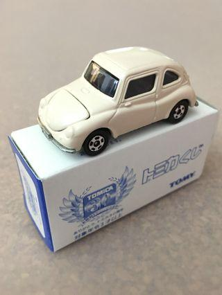 Tomica No5 Subaru 360 30th Anniversary Tomy Car Kuji 1