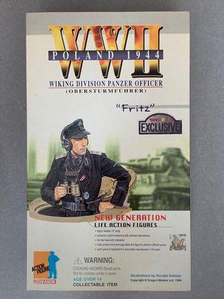 Dragon DML 1/6 Wiking Division Panzer Officer Fritz (Toys r Us Exclusive)