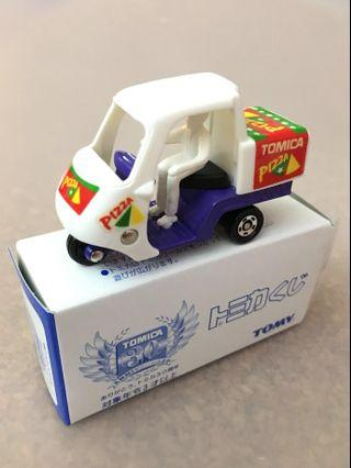 Tomica No4 Pizza Delivery Van Motor 30th Anniversary Tomy Car Kuji 1