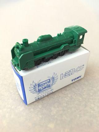 Tomica No8 D51 Steam Locomotive Green Train 30th Anniversary Tomy Car Kuji 1