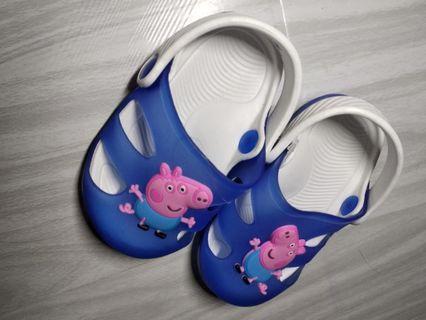 Peppa pig baby boy slippers
