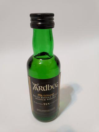 Ardbeg 10 ages (50ml)酒版