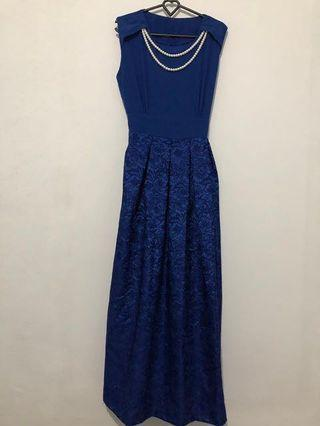 LONG DRESS BLUE