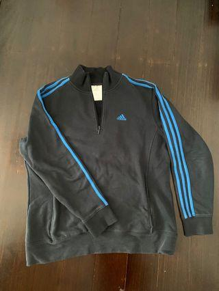 Adidas quarter zip jumper