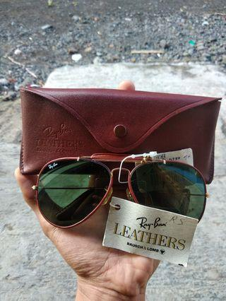 Vintage rayban B&L Leather