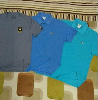 Lacoste Polo Tee & US Army