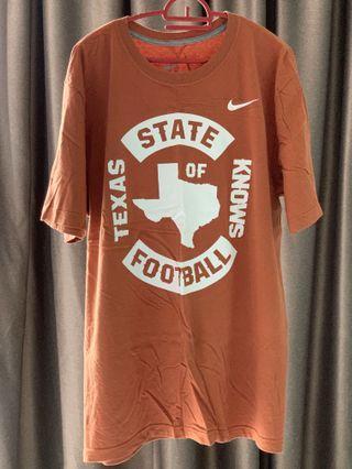 Nike Longhorn Edition Texas Brown Football T Shirt