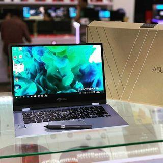 Kredit Laptop Asus Vivobook Flip TP412UA-EC701T i7/8/512ssd/ KTP+SIM