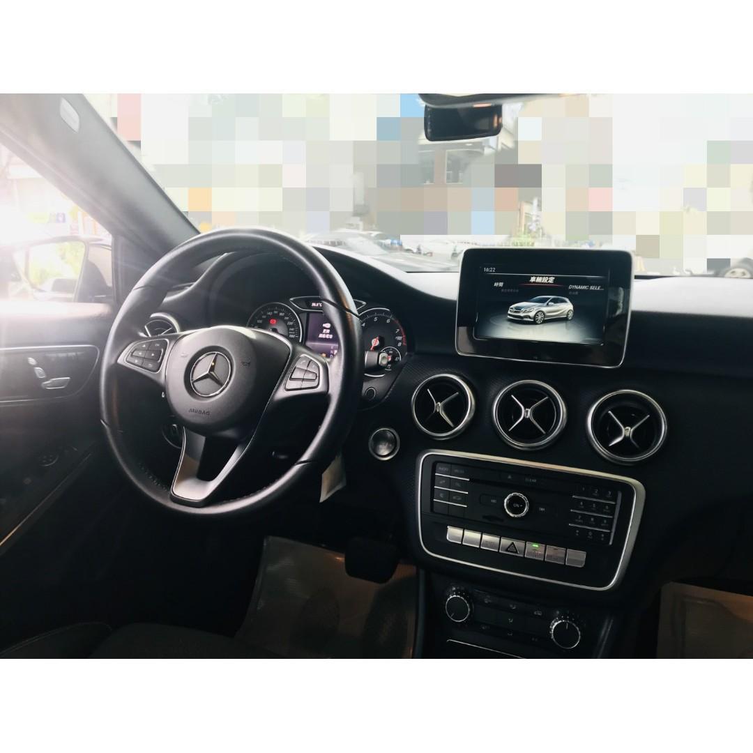 2016 M-Benz A180  雙離合七速變速箱 總代理 渦輪 才1.6CC 省油 全額貸