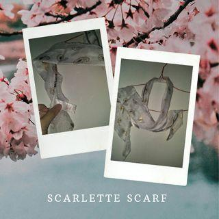New Scarlette scarve