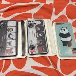 Case iPhone 7 Miniso We Bare Bears