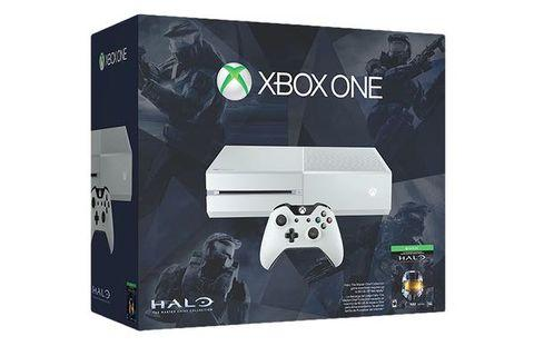 Xbox One 500GB Halo Master Chief Collection in White