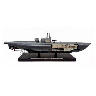 <現貨/出廠即瑕疵> 二戰德國U型潛艦 U487 1:350 ATLAS合金仿真軍艦模型 實物拍攝