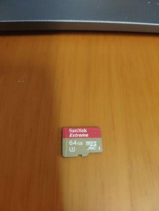 (99%新)SanDisk Extreme 64GB Micro SD