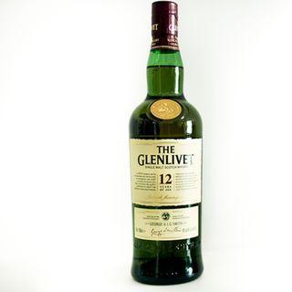 Glenlivet 12 single malt whiskey