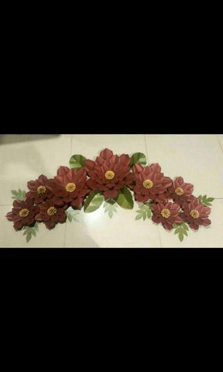 Paper Flower / Bunga Dekorasi