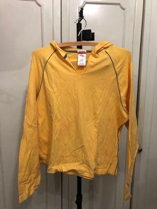 Yellow hoodie T-shirt