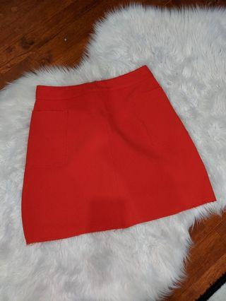 Dotti Blood Orange Skirt