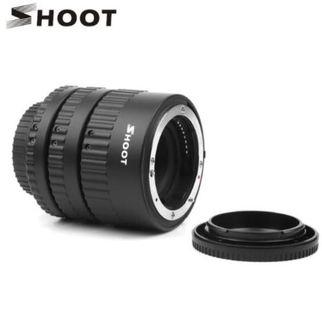 SHOOT Extension Tube Auto Focus Set Macro for Nikon Digital SLR Cameras