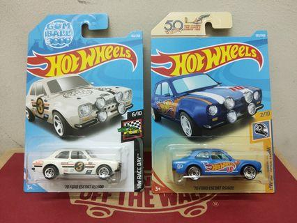 Hotwheel Ford Escort Lot