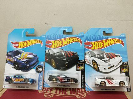 Hotwheels Nissan Lot